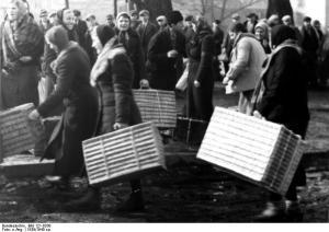 Polen, Landarbeiterinnen nach Deutschland