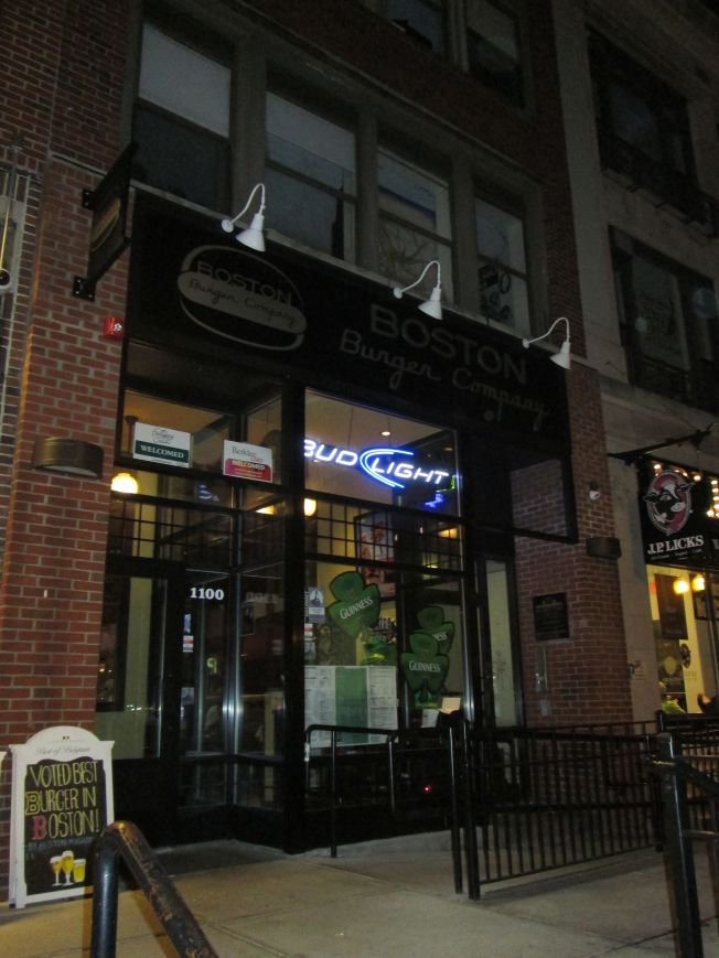 Exterior of Bolyston street location
