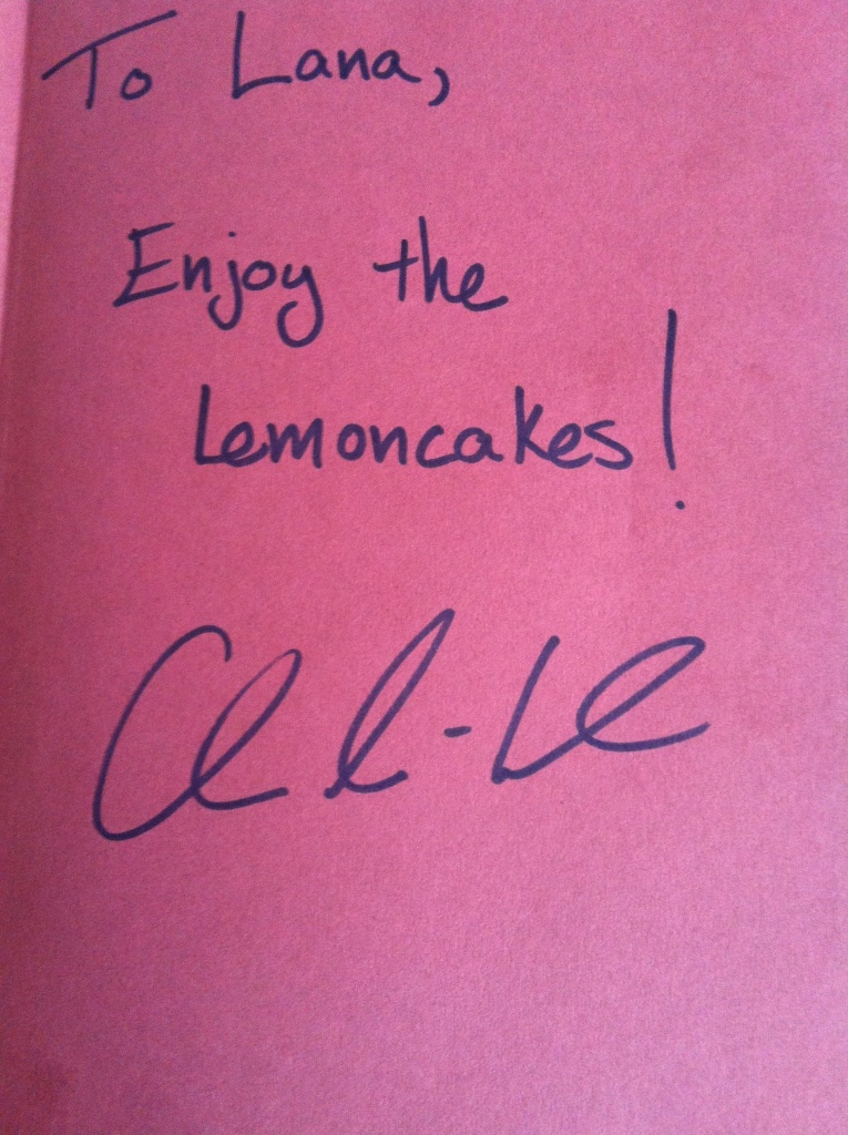 Now I need to learn how to make said lemoncakes