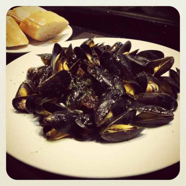 Click on the picture of the delicious mussels I had in Barcelona to read more
