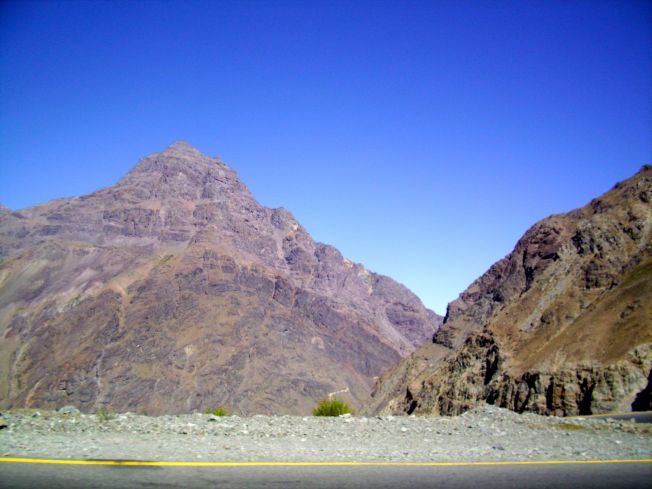I got lost stranded in the Andes Mountains twice.  Click the photo to read how I got out of my sticky situation.