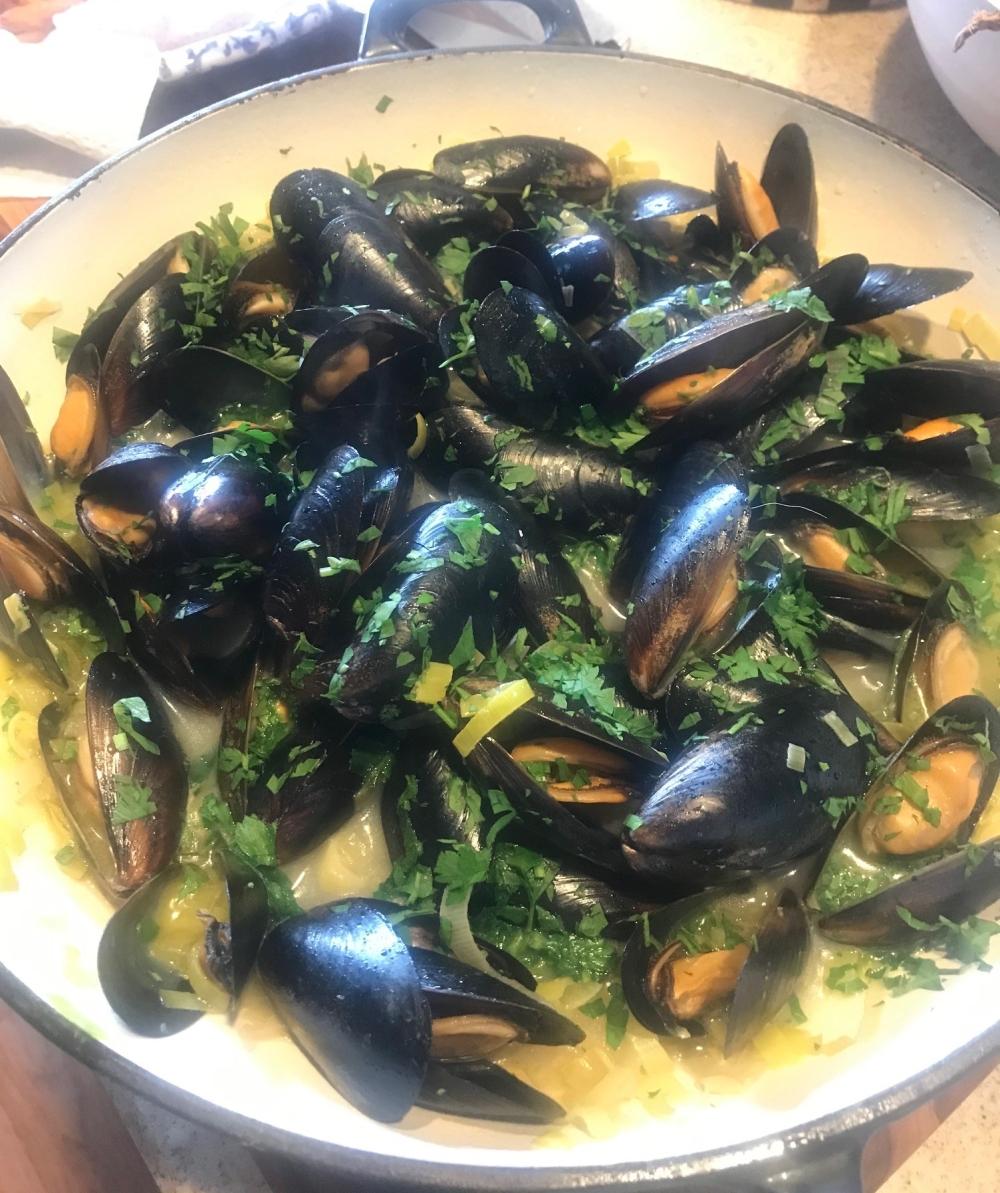 Musselsforlunch